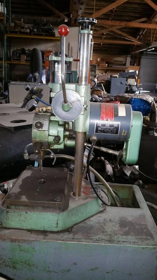 Burgmaster 6 Spindle Auto Indexing Turret Drill Reno Nv