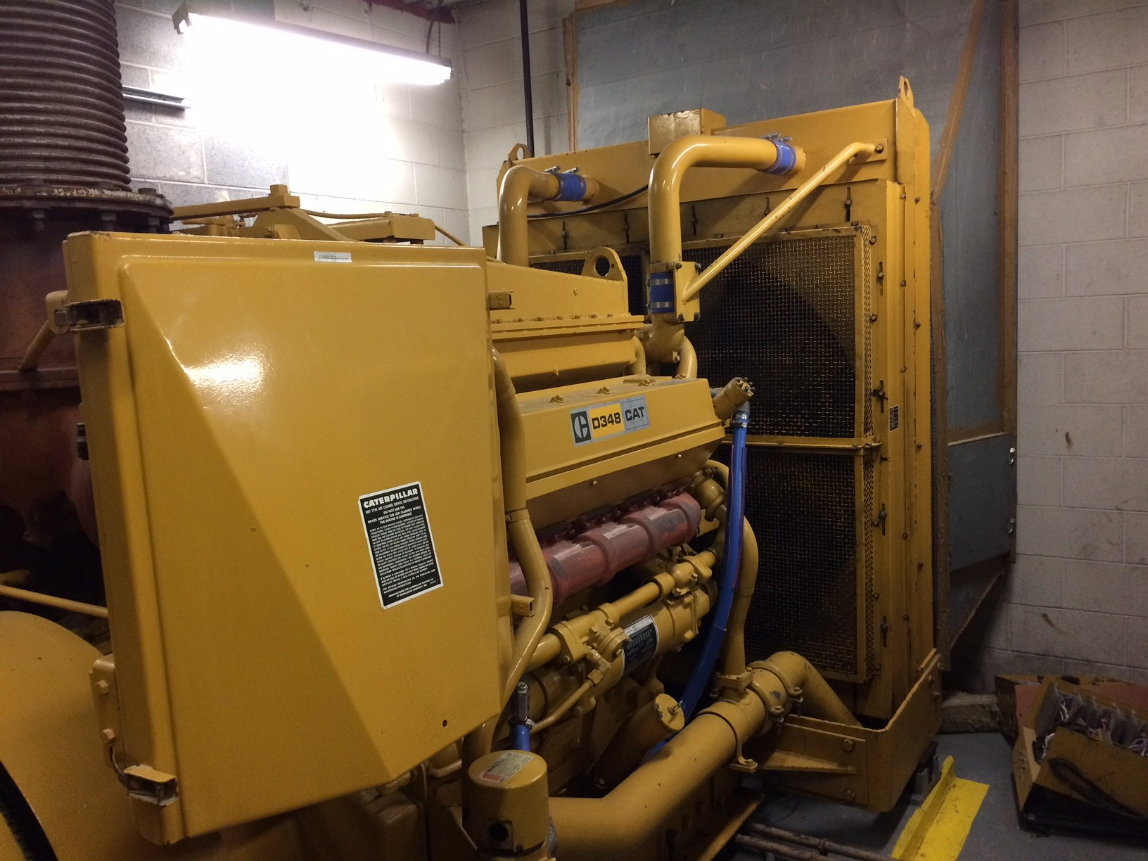 Atlas Copco Natural Gas Generator