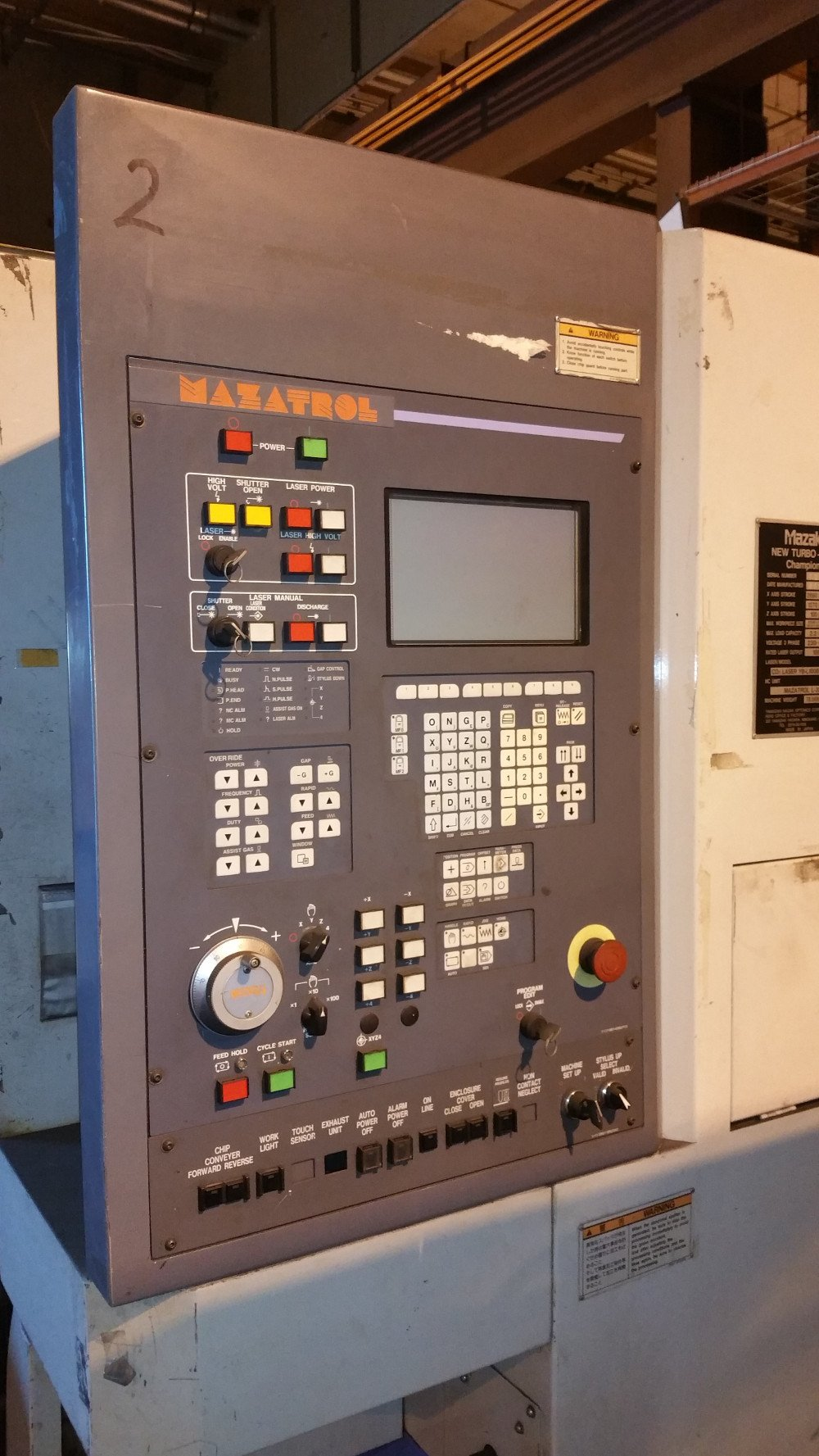 Lasers – 2 Available – Mazak Turbo-X48 – 1998 (Portland, OR) SOLD 2018
