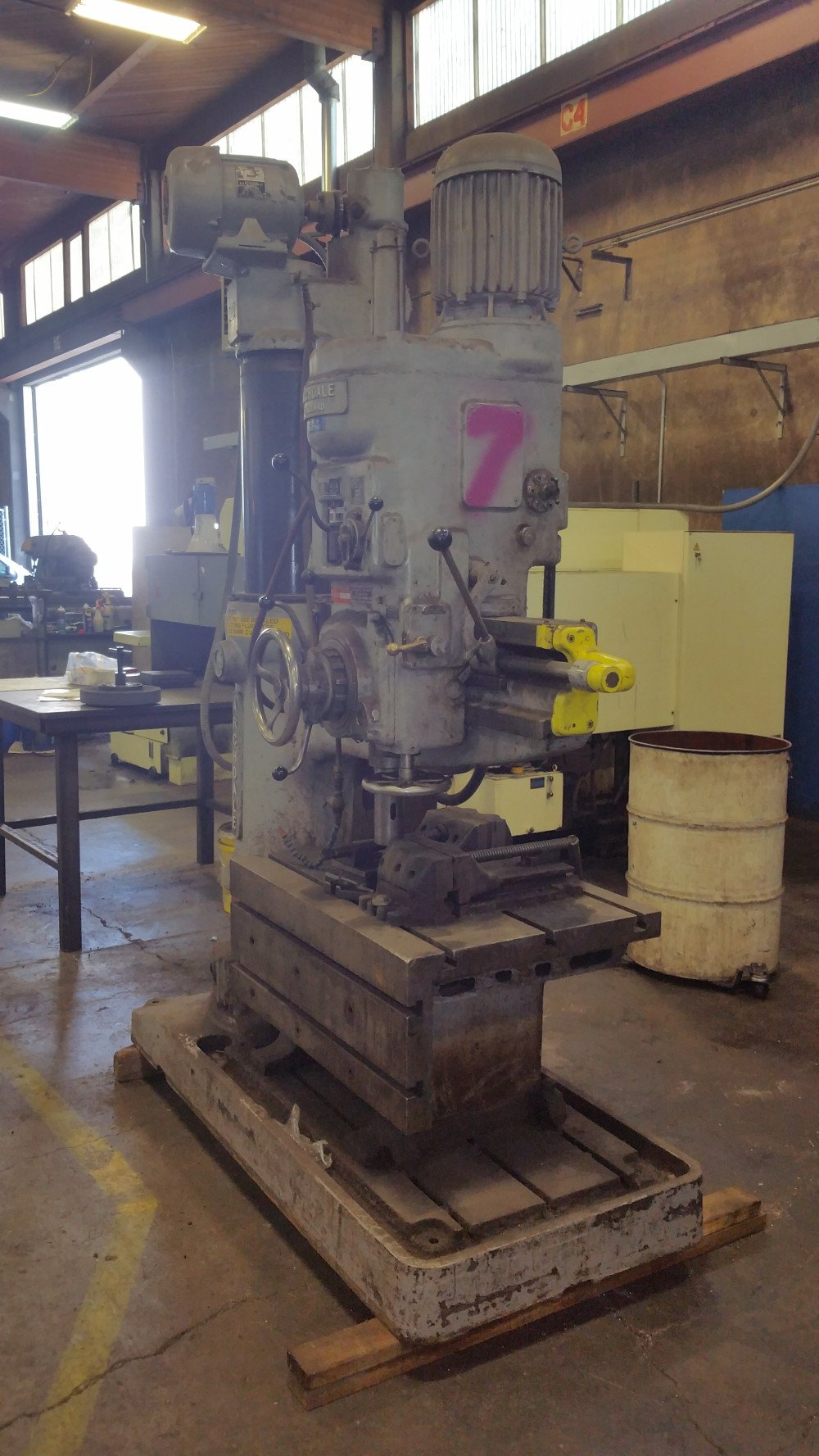 Radial Drill Archdale England 3 X 9 2 X 3 Table