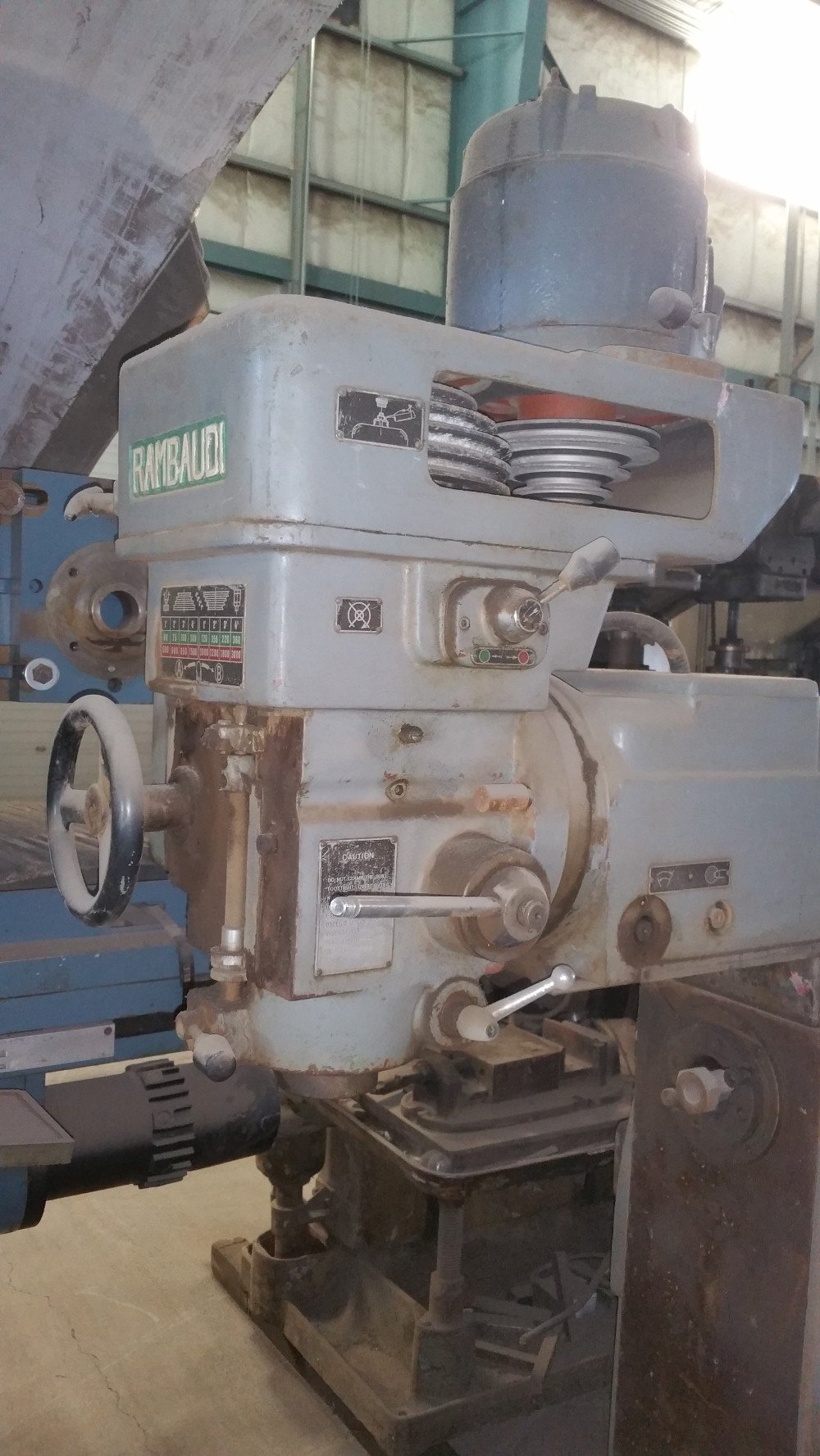 Rambaudi Vertical Mill Bend Oregon Md Equipment Services