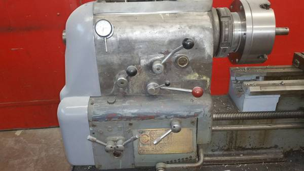 Clausing Colchester Engine Lathe – 15 x 44 (Portland, OR) SOLD 2017
