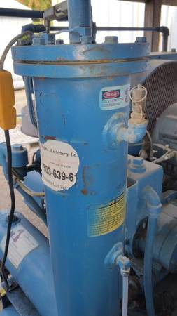 Air Compressor Quincy Nw 25 Hp 125 Psi Dundee Or