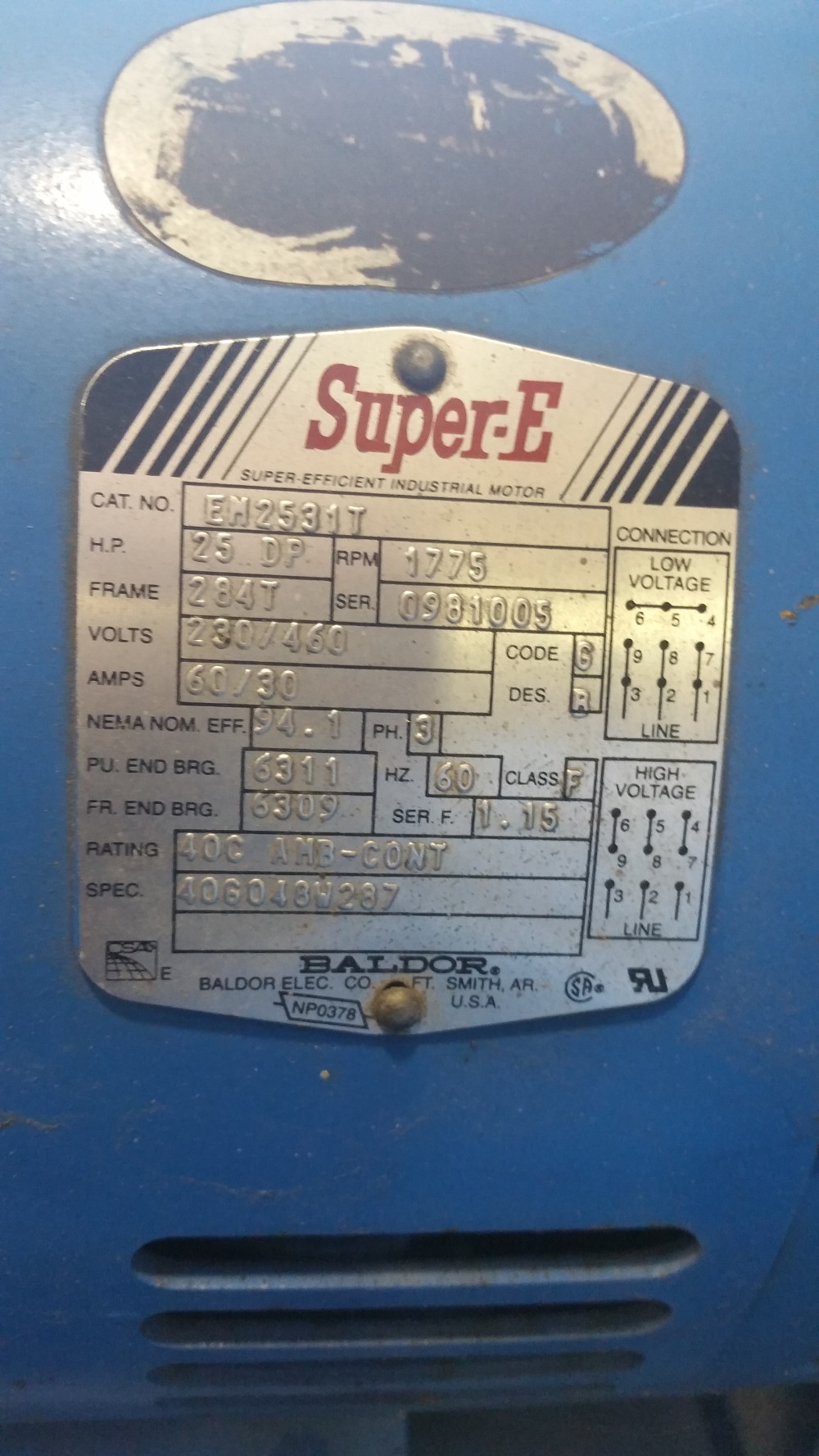 Quincy Nw Air Compressor 1999 Good Running Condition