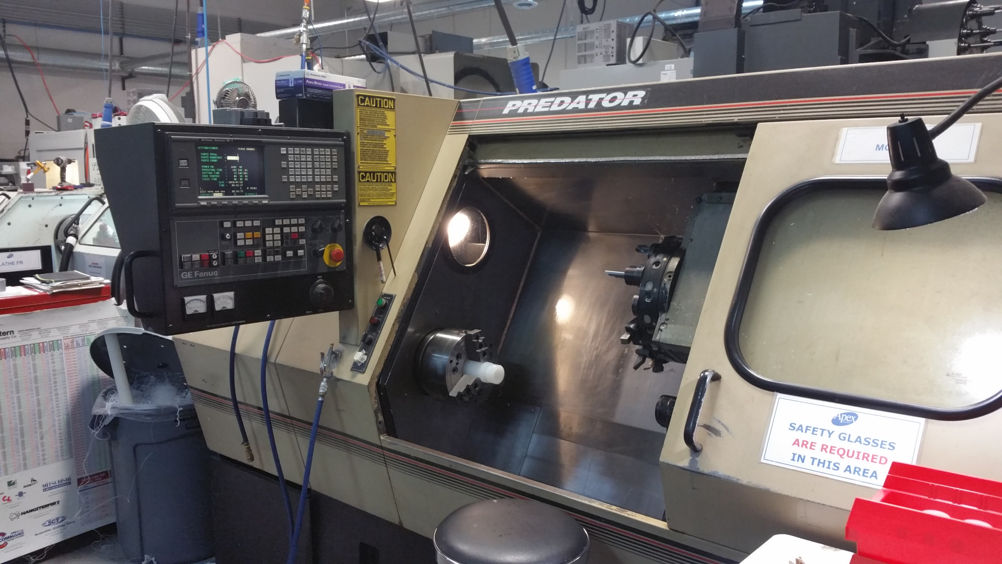Monarch Predator Cnc Lathe Tigard Or Sold 2018 Md
