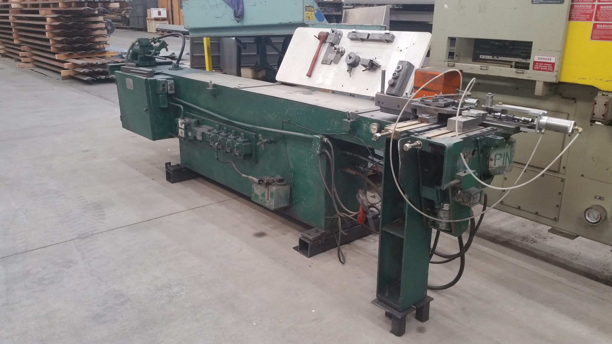 Pines Tube and Pipe Bender (Bend, Oregon) – MD Equipment ... on tube terminals, tube dimensions, tube assembly, tube fuses,