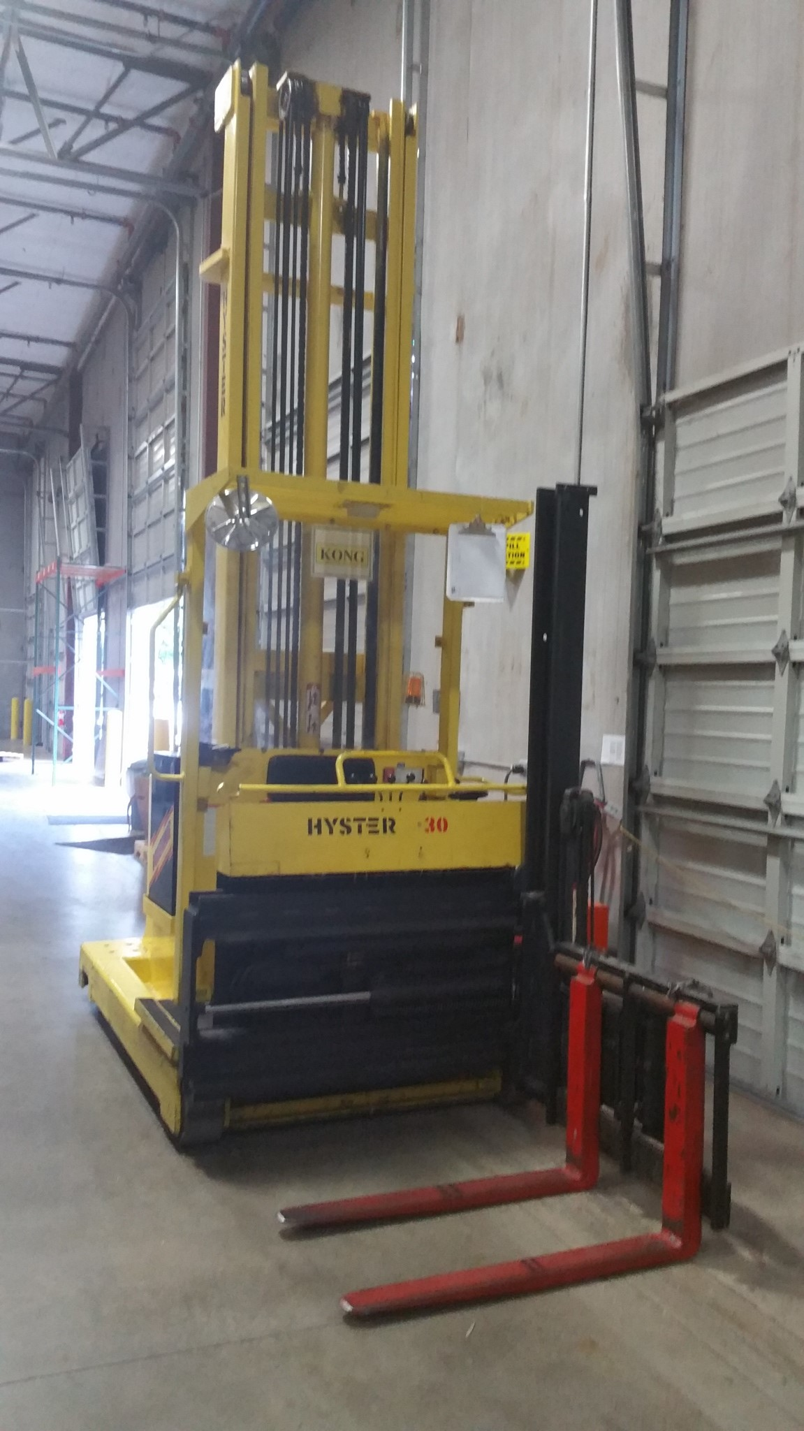 Electric Swing Reach Forklift Hyster Model R30ch Portland Or 30 Wiring Diagram Sold 2018